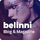 Belinni - Multi-Concept Blog / Magazine WordPress Theme - ThemeForest Item for Sale