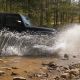 Jeep Splashing Water Off Road - VideoHive Item for Sale