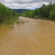 Aerial of Flooded River - VideoHive Item for Sale