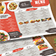 Simple Brush Restaurant Menu Board - GraphicRiver Item for Sale