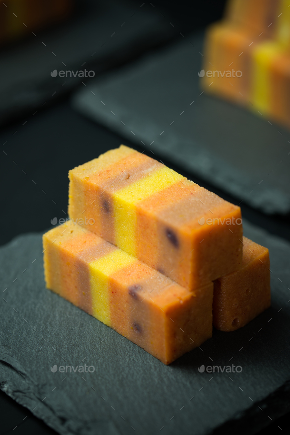 Sarawak layer cake - Stock Photo - Images