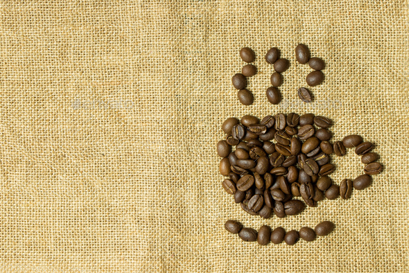 Coffee cup icon - Stock Photo - Images
