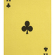 Golden playing cards, Ace of clubs - PhotoDune Item for Sale