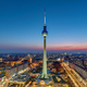 The skyline of Berlin at dusk - PhotoDune Item for Sale