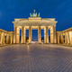 The Brandenburg Gate in Berlin at dawn - PhotoDune Item for Sale