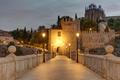 Dawn at the San Martin bridge in Toledo - PhotoDune Item for Sale