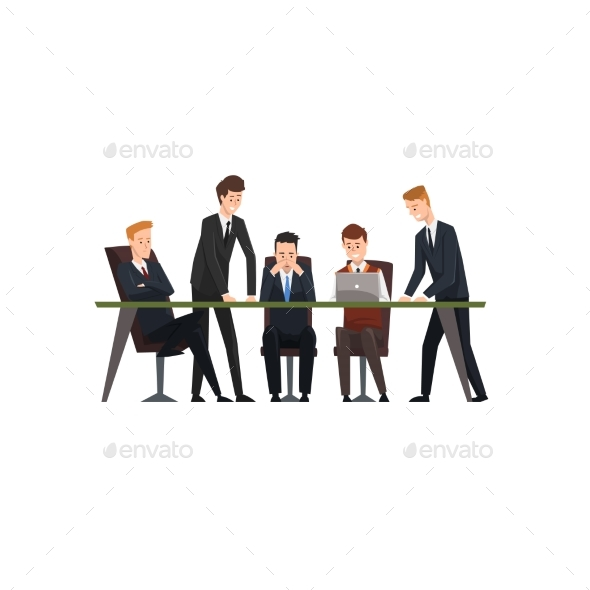 Business Meeting and Teamwork Colleagues - Concepts Business