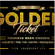 Golden Ticket - GraphicRiver Item for Sale
