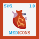 Medicons | 500+ SVG Icons Pack
