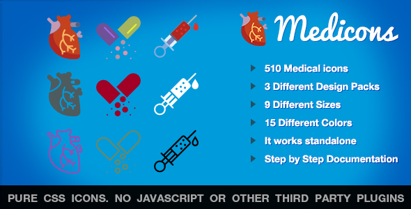Medicons | 500+ SVG Icons Pack Free Download | Nulled