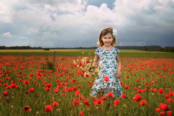 Little girl - Stock Photo - Images