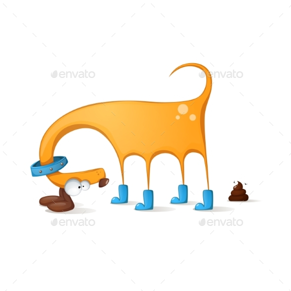 Dog Cartoon - Animals Characters