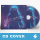 Distortion - CD Album Cover Artwork Template