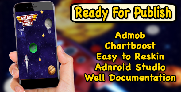 Galaxy Rocket Ranger - Android Studio Project - Ready For Publish - CodeCanyon Item for Sale