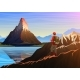 Mountain Matterhorn with Tourist in Morning - GraphicRiver Item for Sale