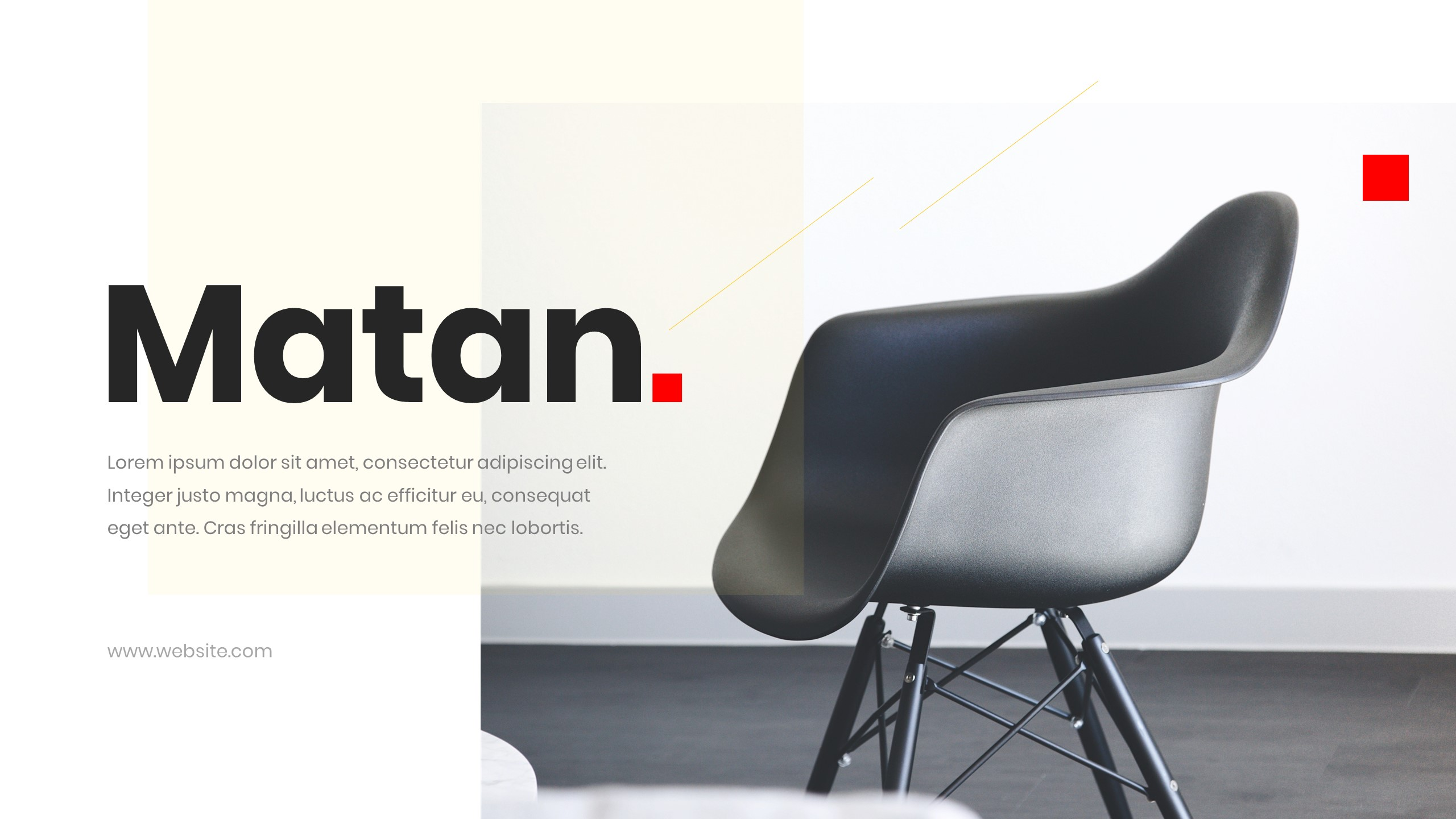 Matan Presentation Template