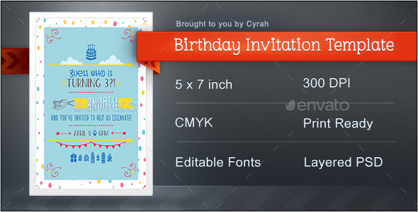 Birthday Invitation - Birthday Greeting Cards