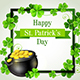 Green Frame with Pot of Gold - GraphicRiver Item for Sale