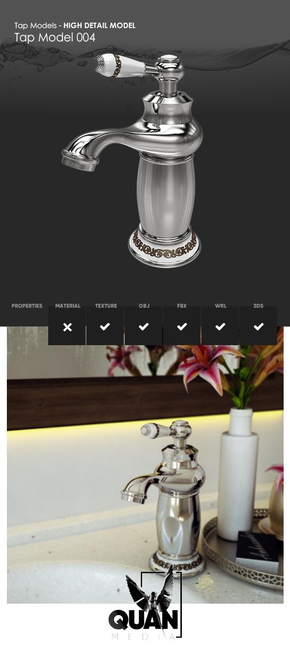Tap Models - Tap Model 004 - 3DOcean Item for Sale