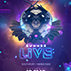 Summer Live EDM Banner - GraphicRiver Item for Sale