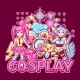 Japanese Anime Cosplay Print. Cute Kawaii