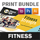 Fitness Club Print Bundle - GraphicRiver Item for Sale