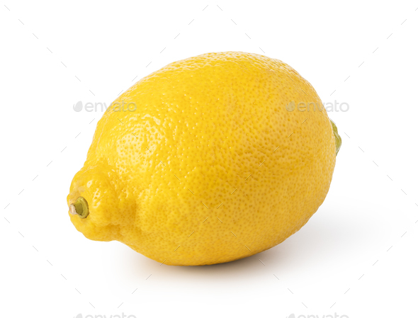 ripe lemon fruit - Stock Photo - Images