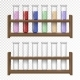 Empty and Filled Flask for Chemical Lab - GraphicRiver Item for Sale
