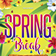 Spring Break Flyer - GraphicRiver Item for Sale