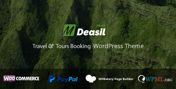 Deasil - Travel and Tour Booking WordPress Theme