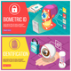 Biometric ID Horizontal Banners