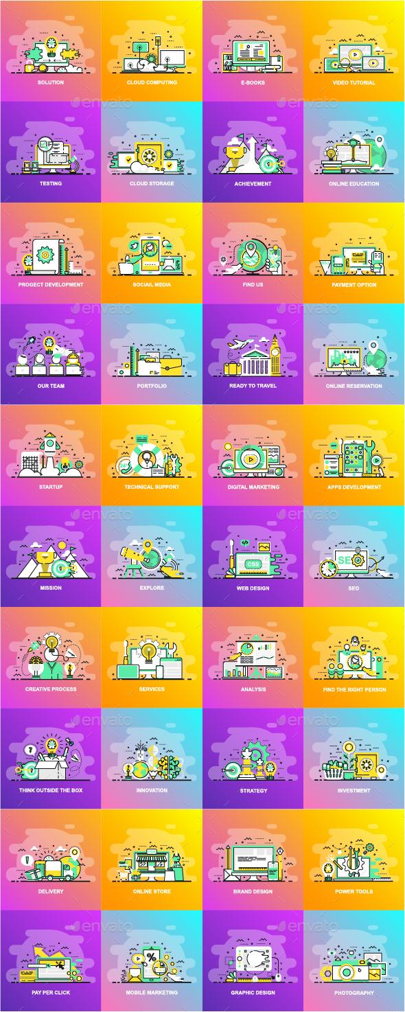 Flat Line Concepts - Concepts Business