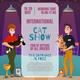Cat Show Announcement Poster