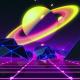 80s Retro Space Saturn V1 - VideoHive Item for Sale