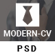 Modern-CV - Personal Resume Template - ThemeForest Item for Sale