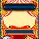 Circus Vector Frame Template - GraphicRiver Item for Sale