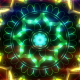 Neon Mandala Dance VJ Loop - VideoHive Item for Sale
