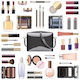 Vector Makeup Cosmetics with Black Handbag - GraphicRiver Item for Sale