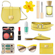 Vector Yellow Fashion Accessories - GraphicRiver Item for Sale