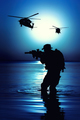 Army soldier silhouette - PhotoDune Item for Sale