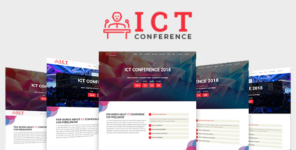 Image of ICT - Conference HTML Template