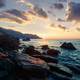 Picturesque seascape on beauty seacost. - PhotoDune Item for Sale