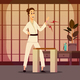 Injury On Karateka Composition - GraphicRiver Item for Sale