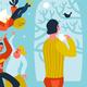 Introvert Or Extravert Header Illustration