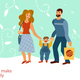 Developing Love Relations Illustration - GraphicRiver Item for Sale