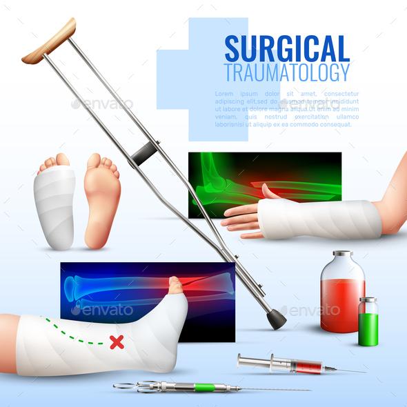 Surgical Traumatology Concept - Health/Medicine Conceptual
