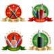 Vape Shop Emblems Set - GraphicRiver Item for Sale