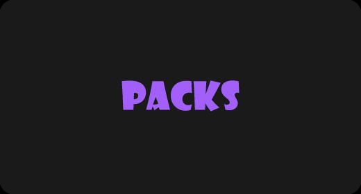 PACKS | 50-70% OFF