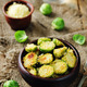Parmesan Roasted Brussel Sprouts - PhotoDune Item for Sale