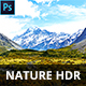 20 Nature HDR Photoshop Actions - GraphicRiver Item for Sale